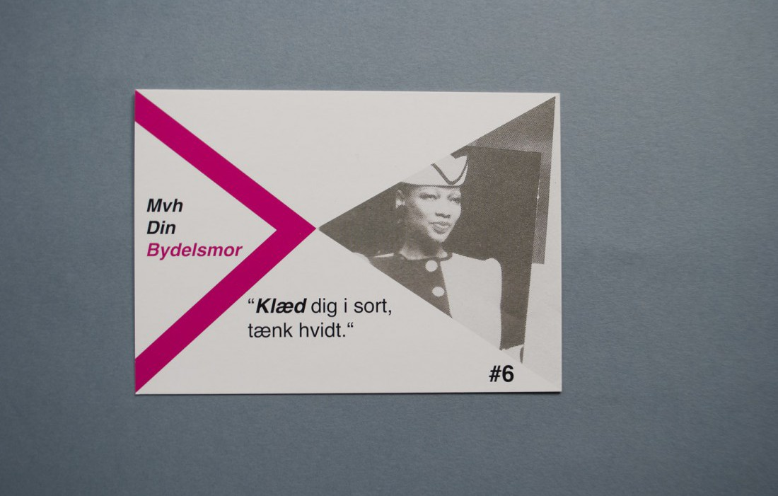 Visit Tingbjerg, Contemporary Art Festival, 2012, Tips from Tingbjerg, Go-cards