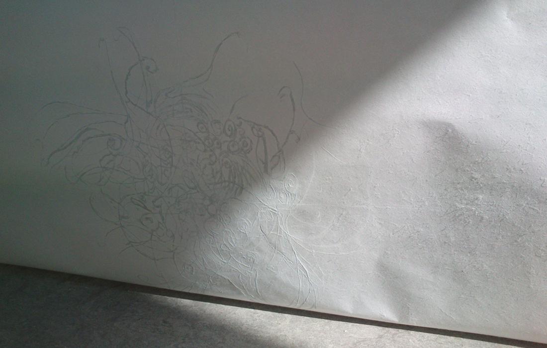 Outside Here/ Udenfor Her, 2014, Association of Danish Printmakers- detail